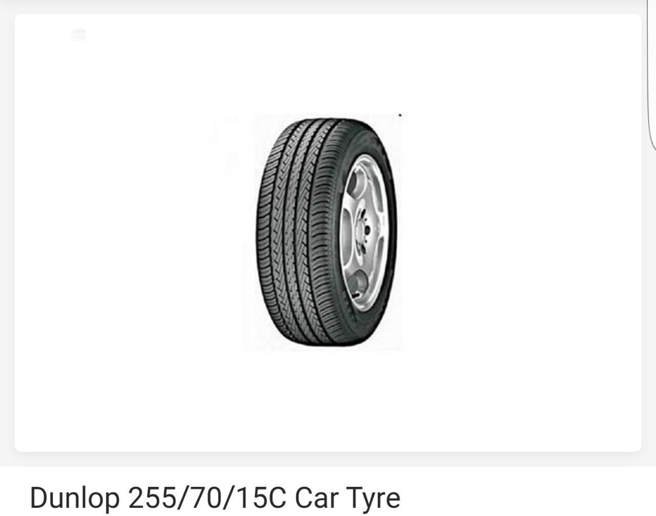 255/70/15C Dunlop Tyre