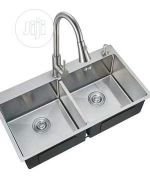 Kitchen Sink Handmaid Double Bowl   Restaurant & Catering Equipment for sale in Lagos State, Orile