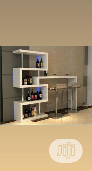 Wine🍷 Rack Table With Back Lights | Furniture for sale in Lagos State, Lekki