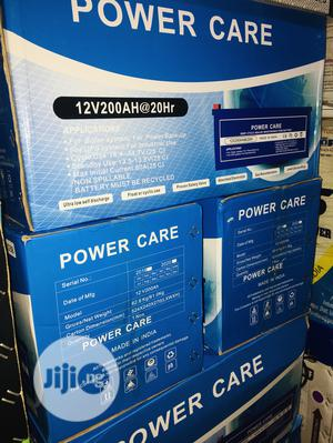 200ah 12volts Power Care Battery   Solar Energy for sale in Lagos State, Ojo