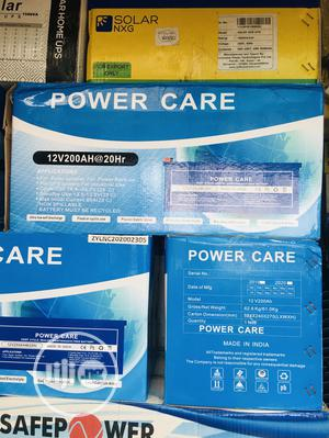 200ah 12volts Power Care Gel Battery   Solar Energy for sale in Lagos State, Ojo