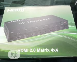4×4 HDMI Matrix Splitter and Switcher | Computer Accessories  for sale in Lagos State, Ikeja