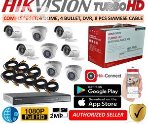 Hikvision 8 Channel 2MP HDTVI Turbo Surveillance Combo Kits   Security & Surveillance for sale in Lagos State, Lekki