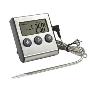 Digital Food Meat Cooking Kitchen Thermometer With Timer   Kitchen Appliances for sale in Lagos State, Ifako-Ijaiye