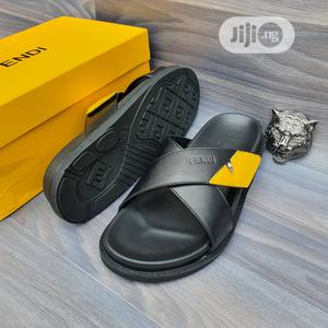 Original Fendi Black Slippers Sandals Available | Shoes for sale in Lagos State, Surulere