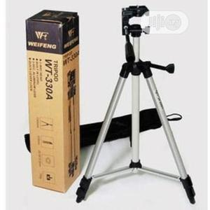 Aluminum Tripod Stand – Silver Weifeng Wt-330a | Accessories & Supplies for Electronics for sale in Lagos State, Alimosho