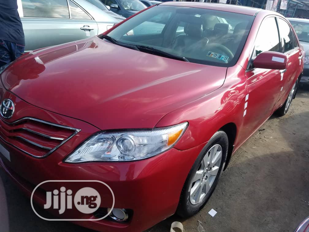 Toyota Camry 2007 Red