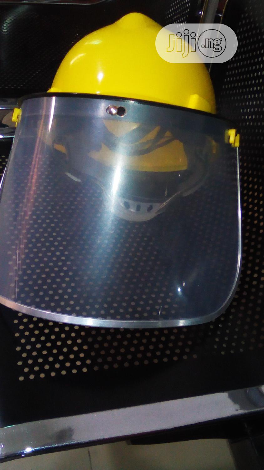 Archive: Imported Face And Head Shield