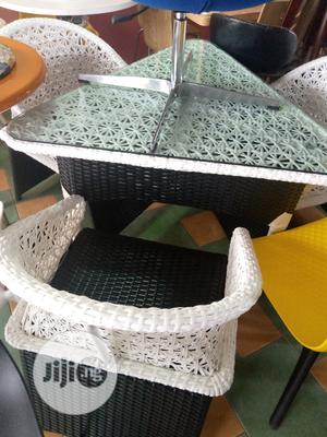 Basket Restaurant Bar Table And By 3 Chairs | Furniture for sale in Lagos State, Lekki