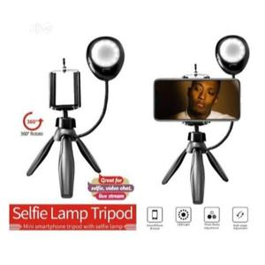 Selfie Studio 360 Degree Rotate Mini Smartphone Tripod   Accessories & Supplies for Electronics for sale in Lagos State, Alimosho