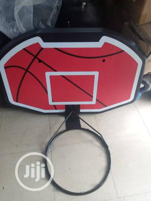 Basketball Post With Rim   Sports Equipment for sale in Lagos State, Lekki