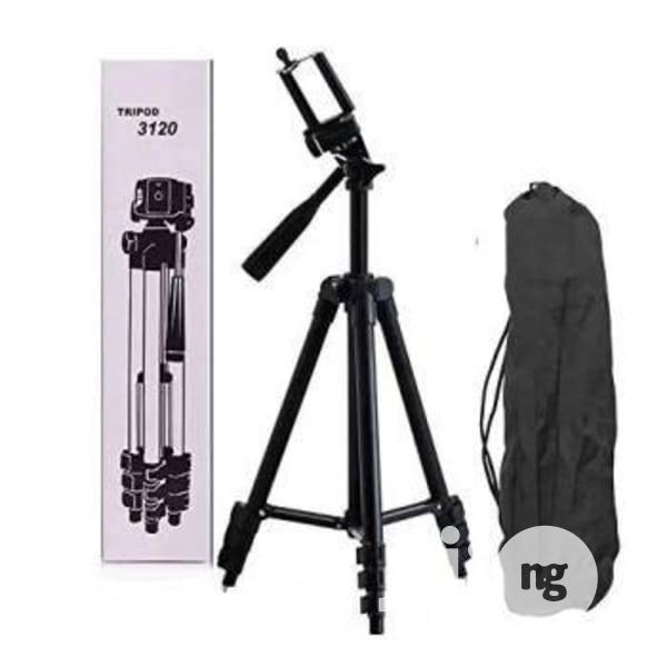 Tripod Phone Stand 3120 + 1 Free Data Cable