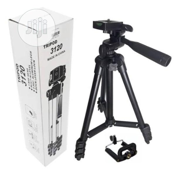 Tripod Phone Stand 3120 + 1 Free Data Cable | Accessories & Supplies for Electronics for sale in Alimosho, Lagos State, Nigeria
