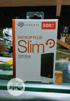 Seagate Backup Plus 500gb External Hard Drive | Computer Hardware for sale in Lagos State, Ikeja