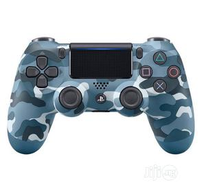 Dual-shock 4 Wireless Controller 4 Playstation 4 Blue Camo   Accessories & Supplies for Electronics for sale in Lagos State, Ikeja