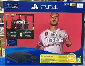 PS4 1TB Slim Console With FIFA 20 2 Pads Bundle   Video Game Consoles for sale in Lagos State, Agege