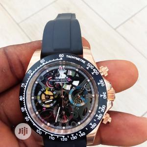 Rolex Designer Rubber Wrist Watch Good Quality Affordable   Watches for sale in Lagos State, Lagos Island (Eko)