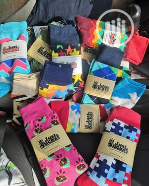 Men Office And Casual Quality Patterned Socks | Clothing Accessories for sale in Lagos State, Shomolu