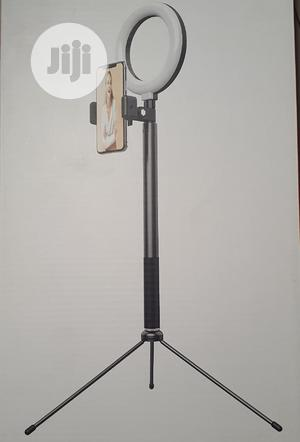 WO NEW 2 In 1 Selfie Ring Light With Tripod Stand & Remote   Accessories & Supplies for Electronics for sale in Lagos State, Ikeja