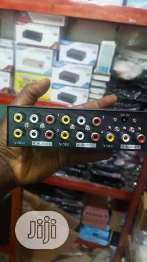 4 Port Av Splitter.   Accessories & Supplies for Electronics for sale in Lagos State, Ikeja
