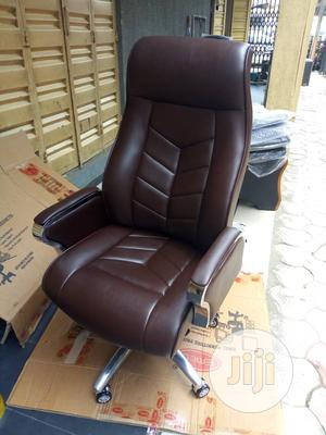 C.E.O Leather Office Chair - Brown   Furniture for sale in Lagos State, Yaba