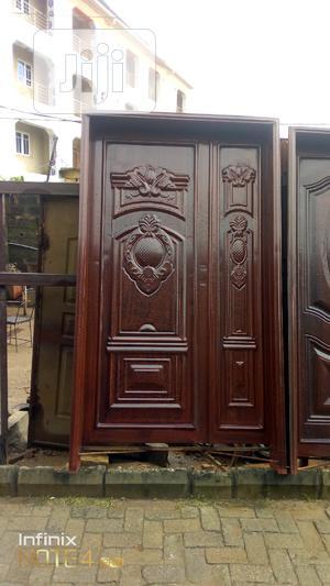 Iron 2in1 Door 4ft By 7ft | Doors for sale in Lagos State, Mushin