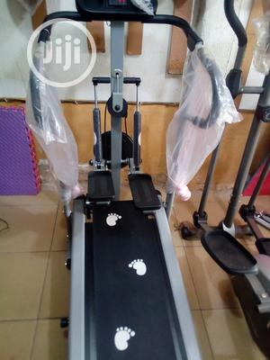 Best Manual Treadmill With Stepper And Twister   Sports Equipment for sale in Rivers State, Port-Harcourt
