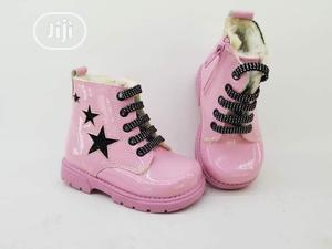 Turkey Made Kidddies Pink Boots 👢 | Children's Shoes for sale in Lagos State, Ojo