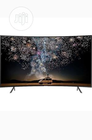 """Polystar 32"""" INCH SMART CURVED TV With Netflix- Black   TV & DVD Equipment for sale in Abuja (FCT) State, Garki 2"""