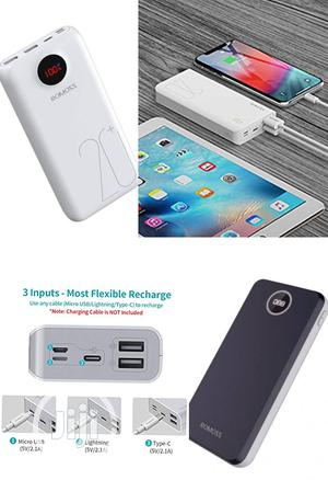 Romoss Power Bank 20,000mah Capacity For Charging All Phone | Accessories for Mobile Phones & Tablets for sale in Lagos State, Ikeja