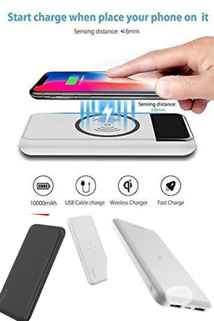 Yoobao 10000mah Wireless, Potable And Tireless Power Bank   Accessories for Mobile Phones & Tablets for sale in Ikeja, Lagos State, Nigeria