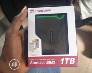 Transcend 1TB External Hdd | Computer Hardware for sale in Lagos State, Ikeja