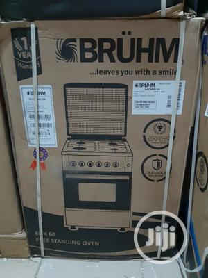 Bruhm 60x60cm Standing Gas Cooker | Kitchen Appliances for sale in Abuja (FCT) State, Wuse 2