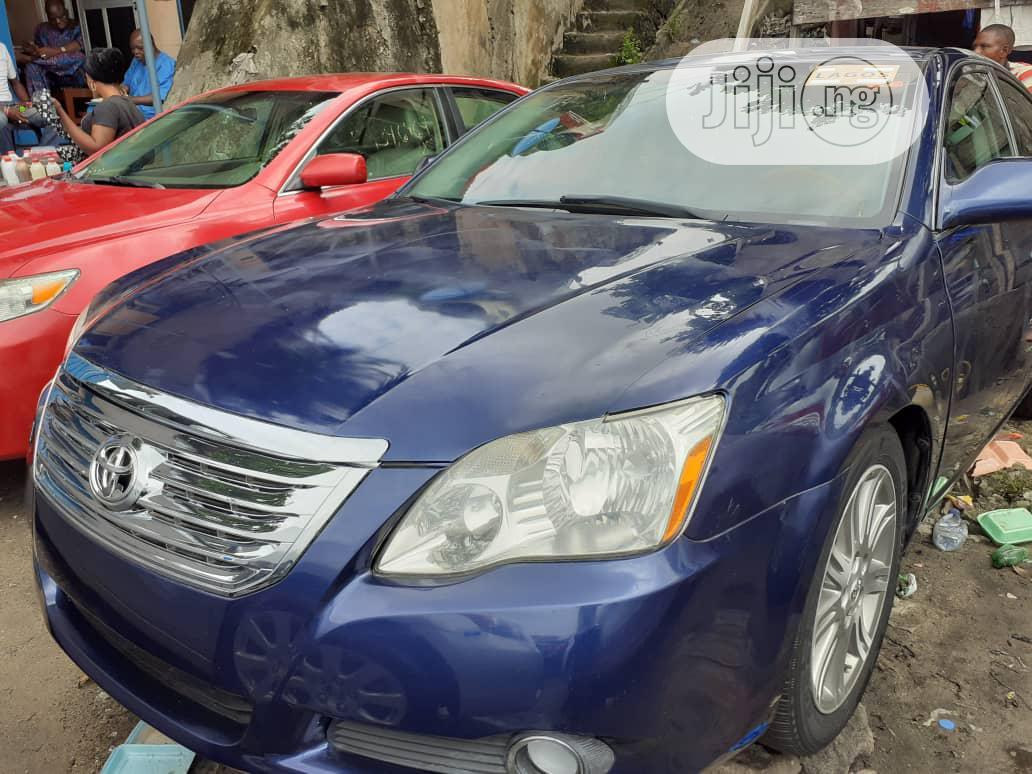 Archive: Toyota Avalon 2007 Limited Blue