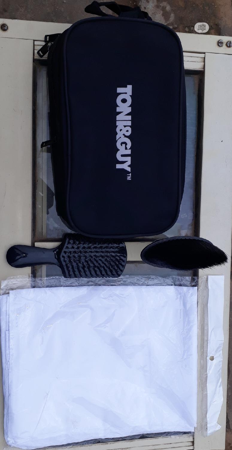High Quality Tony/Guy Clipper Bag,Cloth And Brushes
