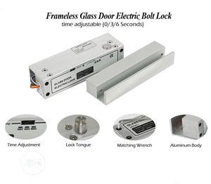 Frameless Glass Door Magnetic Drop Bolt Electric Lock Timer | Doors for sale in Lagos State, Ikeja