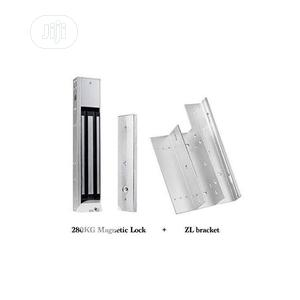 Magnetic Door Lock With ZL Bracket For Access Control | Doors for sale in Lagos State, Ikeja