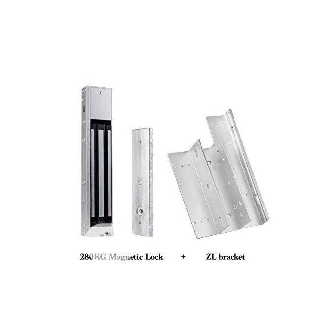 Magnetic Door Lock With ZL Bracket For Access Control