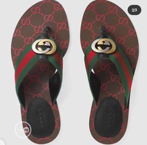 Gucci GG Thong Web Sandal   Shoes for sale in Lagos State, Magodo