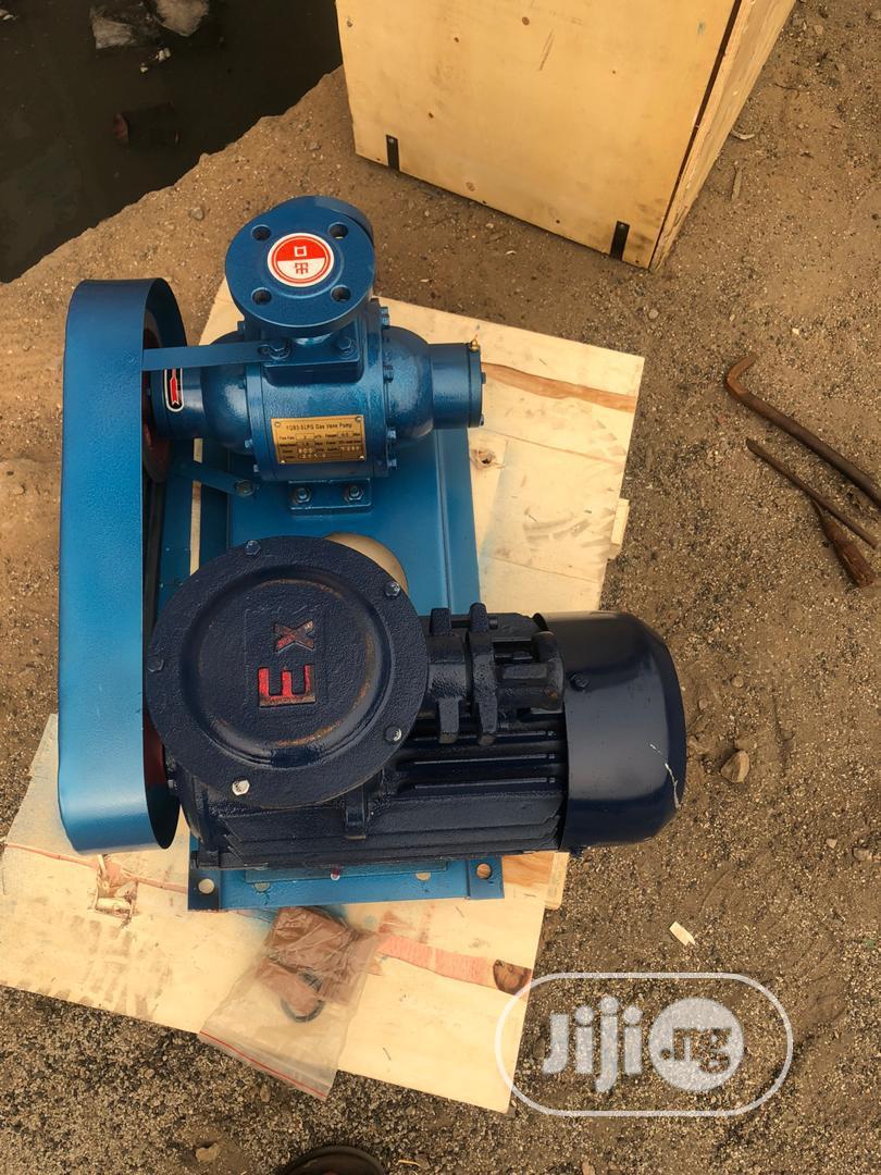 """1""""Inch By 3hp LPG Vane Pump"""
