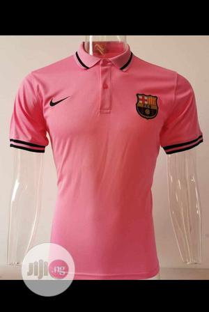 Barcelona Men's Polo Shirt | Clothing for sale in Lagos State, Surulere