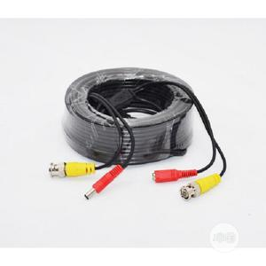 30M BNC Video Power Cable For CCTV Camera   Accessories & Supplies for Electronics for sale in Lagos State, Ikeja
