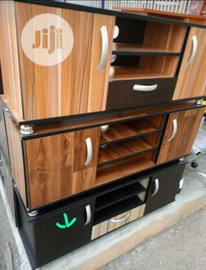 TV Stand Wooden. | Furniture for sale in Lagos State, Yaba