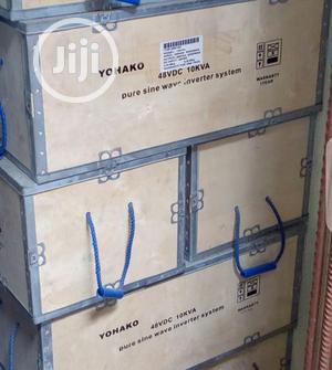 10kva 48volt Yohaka Pure Sine Wave Inverter | Electrical Equipment for sale in Lagos State, Ojo