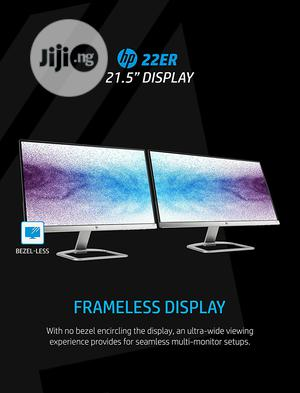 HP 22er 21.5-inch Full HD 1080p IPS LED Monitor With Framele   Computer Monitors for sale in Lagos State, Ikeja
