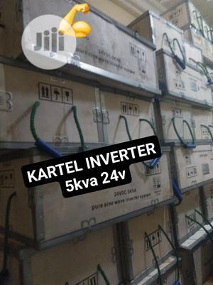 Kartel Inverter 5kva 24v Wall Mount   Electrical Equipment for sale in Lagos State, Ojo
