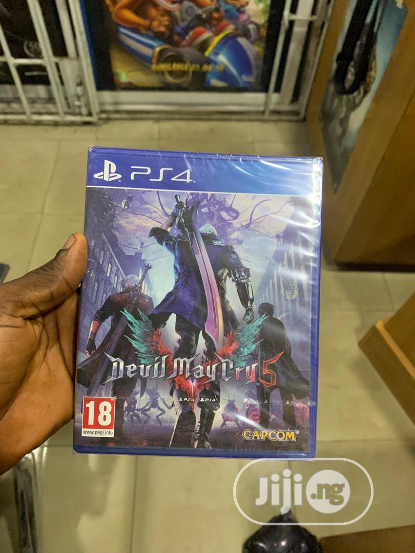 Ps4 Devil May Cry 5