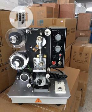 Date Coding Batch Expiry Date Printing Date Coding Machine | Manufacturing Equipment for sale in Lagos State, Ojo