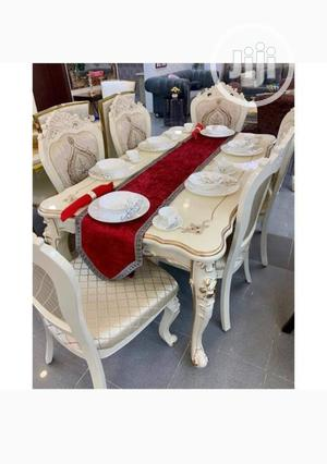 Royal Dinning Set of Table and Chairs(White   Furniture for sale in Abuja (FCT) State, Mabushi
