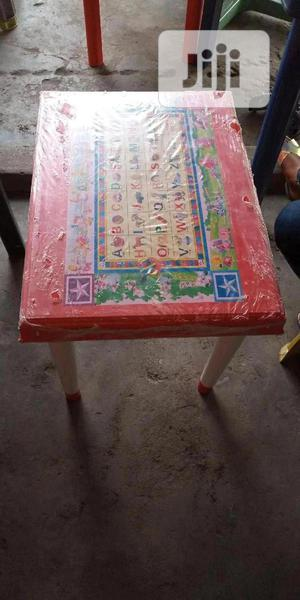 High Quality Alphabetical Plastic Children Table   Children's Furniture for sale in Lagos State, Ikeja